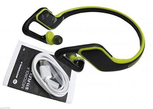 Wireless Headphones Bluetooth New Motorola S11HD Bluetooth Universal Wireless Stereo Headset Headphones Lime by Motorola