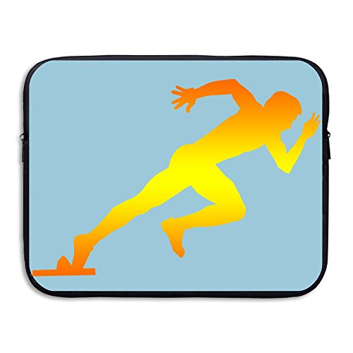 Creative Running Sports Lovers Design Laptop Sleeve Case Protective Bag Briefcase Sleeve Bags Cover For 15 Inch Macbook - Malaysia Running Gear