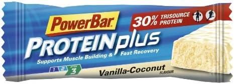 PowerBar ProteinPlus Bar 15 x 55g Riegel Vanille-Kokos