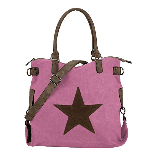 Xl Starbag Bag Fabric, 45 X 37 Cm (width X Height), Pink, Size Xl