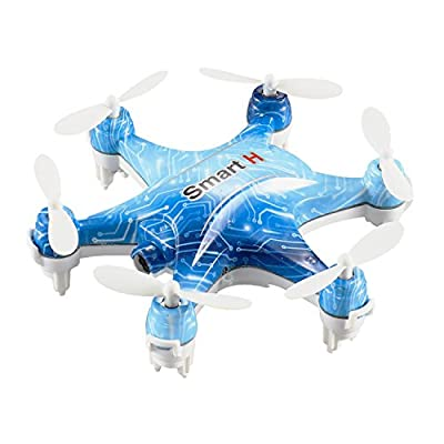 Dwi Dowellin RC Mini Drone 6-axis Hexacopter with Camera 0.3MP FPV Height Hold Phone WiFi Control Hexacopter cheerson CX-37 Blue from cheerson