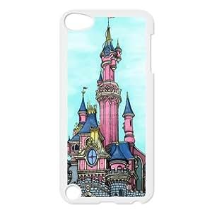 Custom Fairytale Castle Unique Ipod Touch 5 5th Generation Protective Plastic cover case