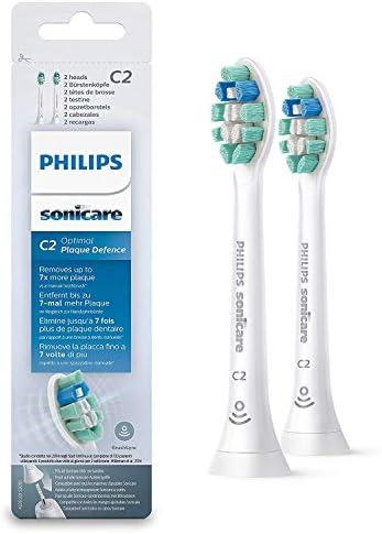 Philips HX9022 - 2 têtes de brosse - elimine jusqu'a 7 fois plus de plaque - 2 pièces