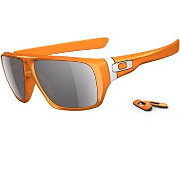 09f7b56573 Image Unavailable. Image not available for. Color  Oakley Dispatch Oo9090  Clementine Frame Grey Lens Plastic Sunglasses