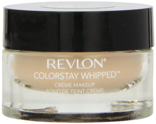 Creme Foundation - Revlon ColorStay Whipped Crème Makeup, Medium Beige