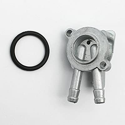 KIPA Gas fuel valve petcock for Honda CT70 CT90 CT110 Passport Mini Trail 1970-1979 ATC110 ATC125M 1979-1985 TRX125 1984-1986 TRX70 1986-1987 ATV ON OFF Res Switch 3-Positon with mounting rubber seal: Automotive