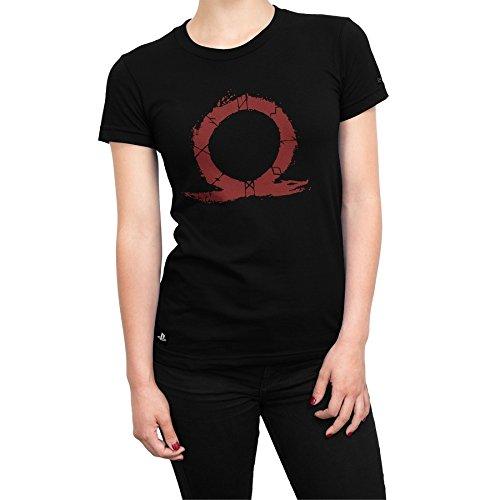 Camiseta Feminina God Of War Symbol Of War - Preto - Gg