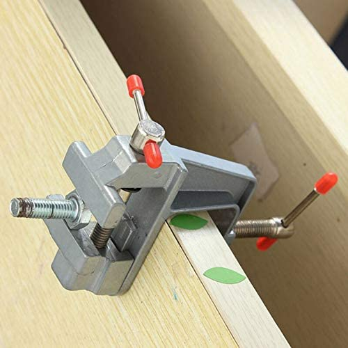 GENERICS LSB-Werkzeuge, 3,5 Zoll Aluminium Miniatur kleine Juweliere Hobby Clamp auf Tisch Schraubstock Mini Tool Vice Muliti-Funcational