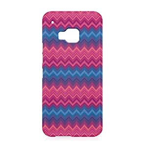 Chevron HTC One M9 3D wrap around Case - Design 4