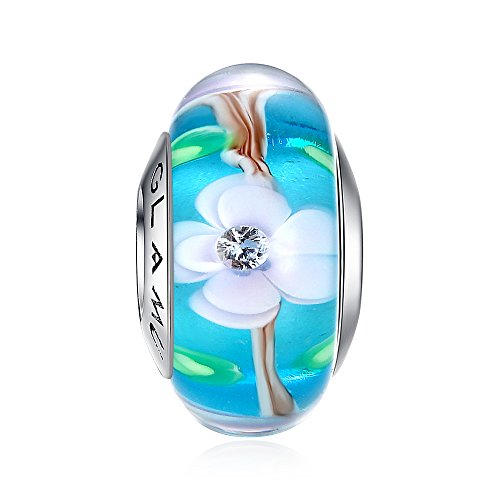 Glamulet Sports 925 Sterling Silver Blue - March Blue Glass Shopping Results