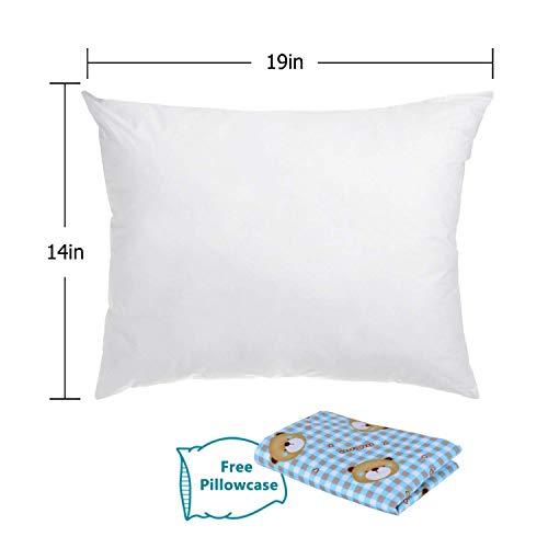 Adoric Bed Pillows for Sleeping Down Alternative Bed Pillows 100% Cotton