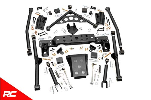 Rough Country X-Flex Long Arm Upgrade Kit Compatible w/ 1999-2004 Jeep Grand Cherokee WJ Adjustable Control Arm 90900U