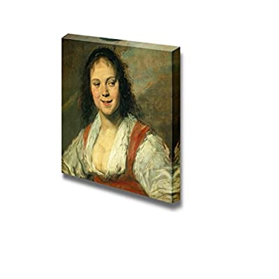 The Gypsy Girl - Malle Babbe by Frans Hals - Canvas Print Wall Art Famous Painting Reproduction - 12
