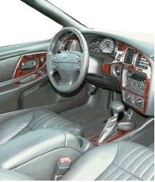 Chevrolet chevy monte carlo interior burl wood dash trim kit set 2001 2002 2003 2004 for 2001 chevy tahoe interior parts