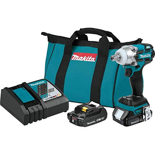 Makita XWT11R 18V LXT Lithium-Ion Compact Brushless Cordless 3-Speed 1 2 Impact Wrench Kit
