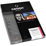 Canson InFinity HighGloss Premium RC Papier Photo 25 Feuilles 315 g A4 Extra Blanc