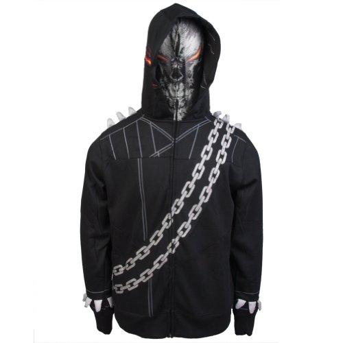 Ghost Rider - Ghostoo Ridoo Costume Zip Hoodie