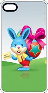 Easter Bunny Wishing Happy Easter Clear Rubber Case for Apple iPhone 4 or iPhone 4s wangjiang maoyi