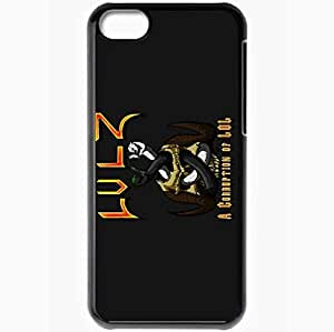 XiFu*MeiPersonalized iphone 6 4.7 inch Cell phone Case/Cover Skin Lulz A Corruption Of Lol BlackXiFu*Mei