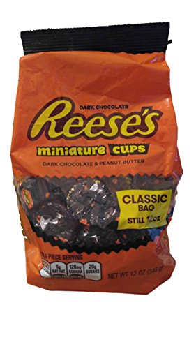 Reese's Miniature Dark Chocolate Peanut Butter Cups, for sale  Delivered anywhere in USA