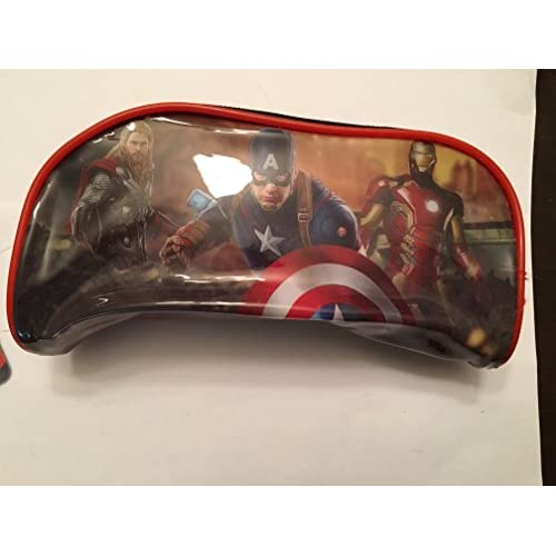 Avengers Age of Ultron Pencil Case Pouch (Red/Black) for sale