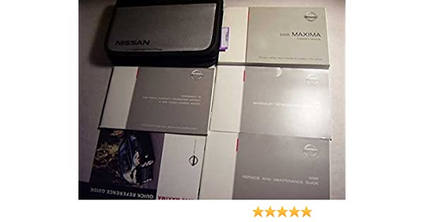 2005 nissan maxima owners manual nissan amazon com books rh amazon com 2005 nissan maxima owner's manual 2005 nissan maxima owner's manual