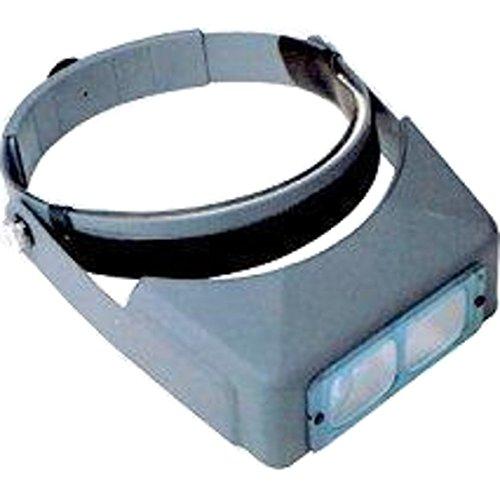 20 X Magnifier (Donegan DA-2 OptiVISOR Headband Magnifier, 1.5X Magnification Glass Lens Plate, 20