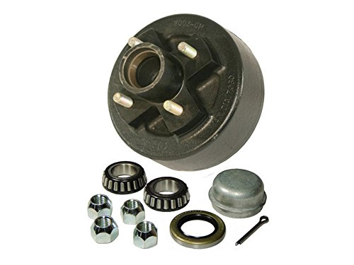 Rigid Hitch Trailer Hub-Drum Assembly - 4-Bolt on 4