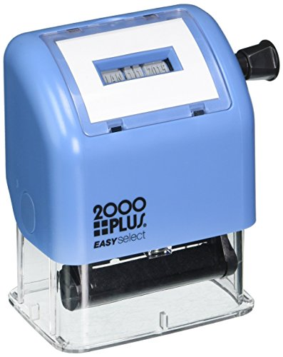 CONSOLIDATED STAMP Cosco 011091/2 2000 Plus Easy Select Dater - 2000 Plastic Plus Stamp