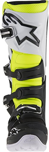 Alpinestars Tech 7 Boots , Primary Color: Black, Size: 13, Distinct Name: Black/Red/Yellow, Gender: Mens/Unisex 201201413613 by Alpinestars Negro/Blanco/Amarillo