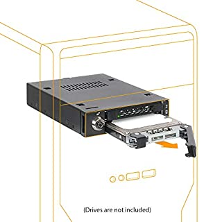 ICY DOCK ToughArmor MB992SK-B 2 x 2.5? SATA HDD/SSD Full Metal Mobile Rack in 1 x 3.5 Device Bay (B0093C4AIY) | Amazon price tracker / tracking, Amazon price history charts, Amazon price watches, Amazon price drop alerts