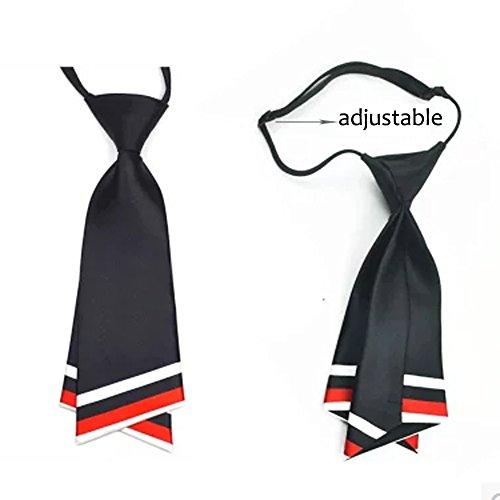 HANERDUN Womens Bowtie Ladies Pre Tied Silk Necktie Costume Accessory Gift Idea by HANERDUN (Image #1)