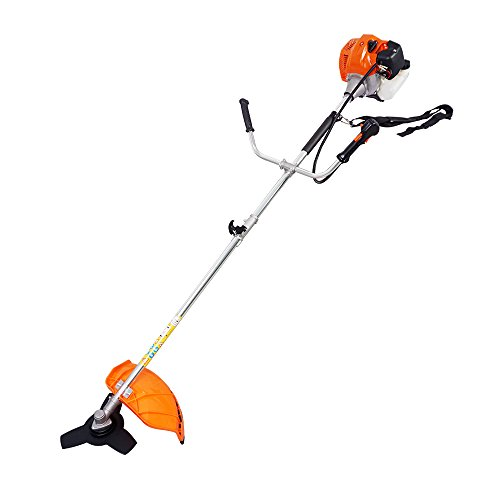 yiyusheng Diaphragm Straight Shaft Gas Powered Weed String Trimmer 2-cycle Brush Cutter for Weed Eater lawn, garden -