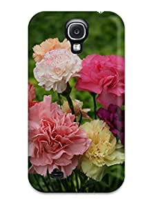 ZippyDoritEduard Fashion Protective Nice Flower Bunch Case Cover For Galaxy S4
