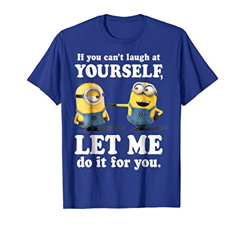 Despicable Me Minions Laugh At Yourself Graphic -