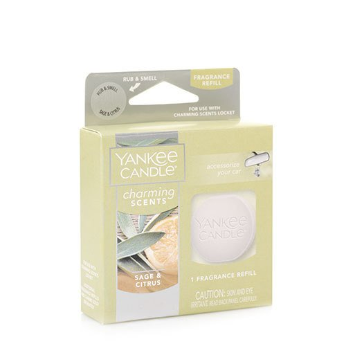 Yankee Candle Sage & Citrus Charming Scents Fragrance Refill , Fresh Scent B01N4QBV33