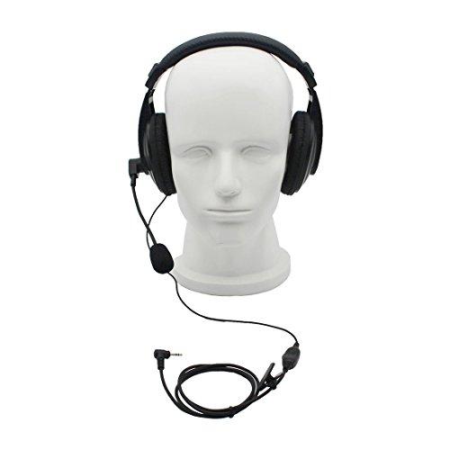 GoodQbuy® Professional Noise Cancelling Radio Overhead Head