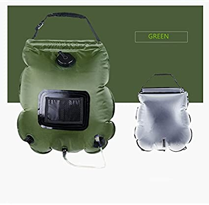 0962281dadf Amazon.com : nex&co Summer Shower Bag for Camping 5 Gallons Solar ...