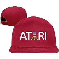ATARI Colorful logo baseball cap hip hop hat Red (5 colors)