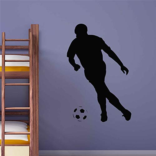 Yunhaa Quote Mirror Decal Quotes Vinyl Wall Decals Football Player Sports for Boys Room Gym