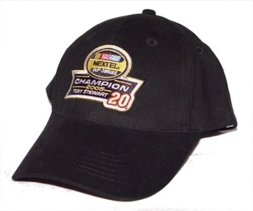 nascar-racing-nascar-cap-hat-adjustable-authentic-tony-stewart-nextel-2005-champion-buy-one-get-one-