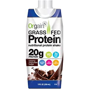 Orgain Grass Fed Protein Shakes, 2 Flavors, 11 Ounce, 12 Count