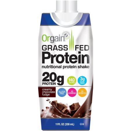 : Orgain Grass Fed Protein Shakes, 2 Flavors, 11 Ounce, 12 Count