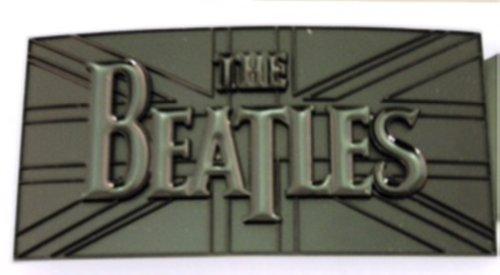 Beatles Musical Band British Flag Black Belt Buckle. (British Flag Belt Buckle)