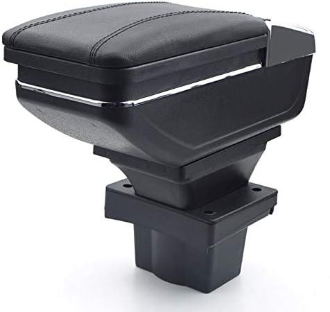 Für Skoda Octavia A5 Yeti 2007 2014 Armlehnebox Mittelkonsole Mit Aufbewahrungsbox Mittelarmlehne Schwarz Auto