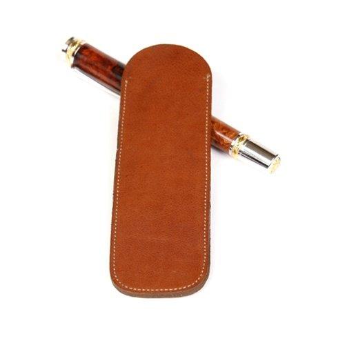 Double-Tan-Leather Pen Slip (Leather Slip Belt)