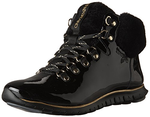outlet limited edition Cole Haan Women's Zerogrand Hikr Boot Black Patent Waterproof-shearling-black footaction cheap online cheap real authentic cheap sale finishline cheap sale sale z4rKo