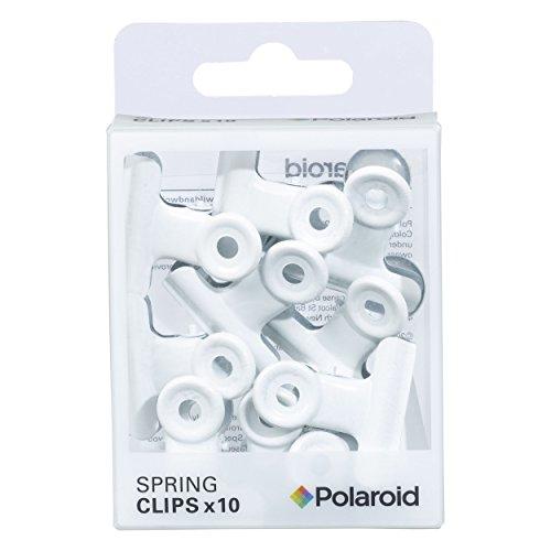 Polaroid Spring Clips, White