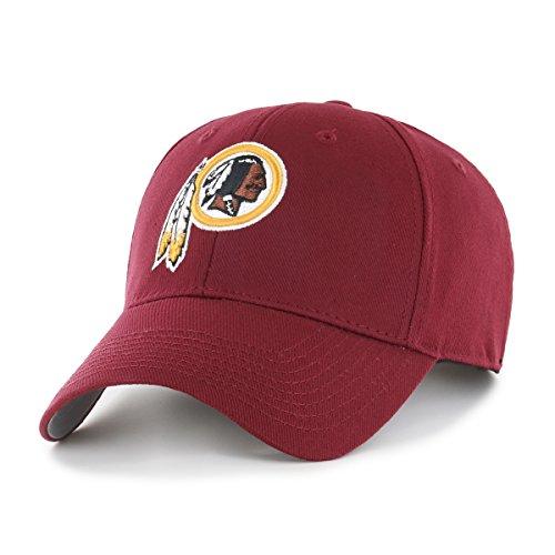 NFL Washington Redskins OTS All-Star Adjustable Hat, Cardinal, One (Washington Redskins Cap)