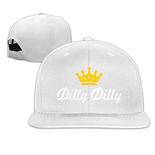 Bikini bag Adjustable Baseball Hat Snapbacks Hat Baseball Caps Trucker Hat - Dilly Dilly Crown Script Logo ()